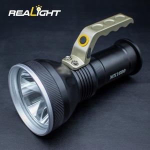 MX1600 1600루멘 LED후레쉬 써치라이트 충전식 손전등