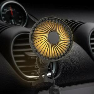 2세대 자동회전 차량용 선풍기 WNA-CF200P 3단조절 LED