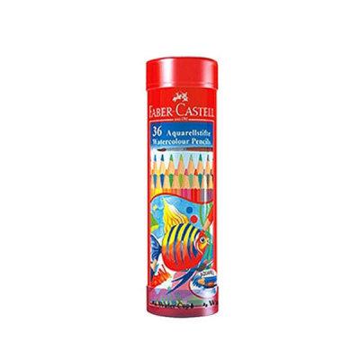 파버카스텔 수채 색연필 36색 라운트틴 수채화
