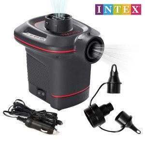 인텍스 차량용 전동펌프 66636 물놀이 튜브 에어펌프