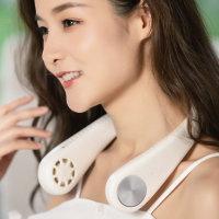 휴대용 넥밴드 무선 목 선풍기 USB충전식