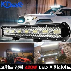 고휘도 420W 울트라 LED 써치라이트 IP68 완벽방수
