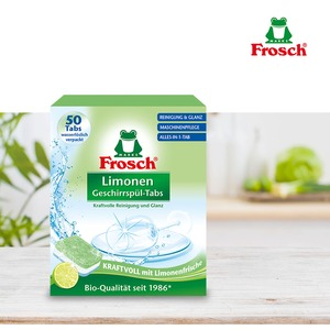 프로쉬 독일 친환경 식기세척기세제 그린레몬 50개입