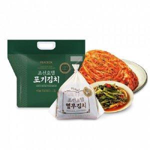 조선호텔 포기김치 4kg + 열무김치 1.5kg (추가쿠폰)