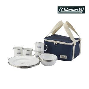 Coleman 콜맨 에나멜 디슈웨어 접시 세트 2000032362