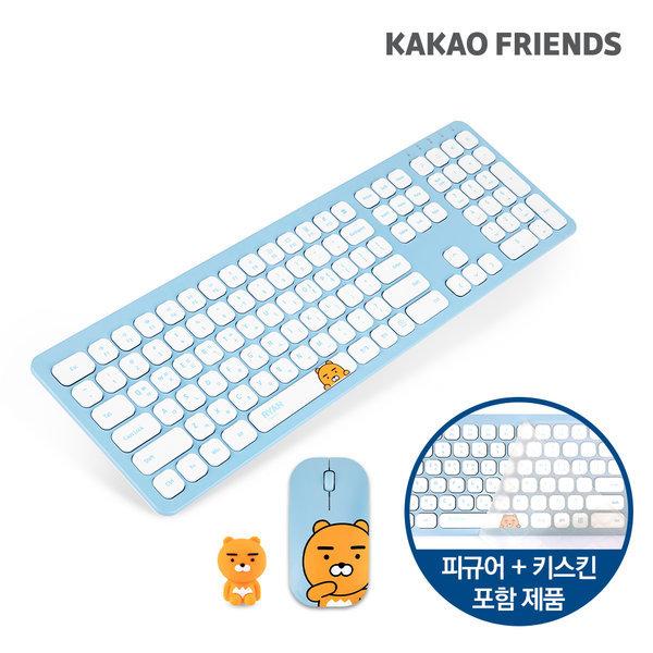 KFKM-001 라이언 무선키보드 마우스 세트