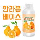 쉘몬 과일농축액에이드베이스 1kg 한라봉 스무디/주스