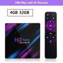 h96 max rk3318 스마트 tv박스 안드로이드 9.0 4G+32G