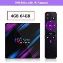 H96 max rk3318 스마트tv 박스 안드로이드9.0 4G+64G