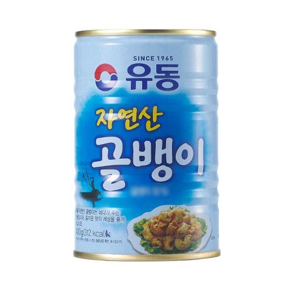 유동 자연산골뱅이 400g (1캔) 5만원이상 무료배송