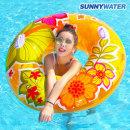 써니워터 알로하 튜브 110cm 물놀이 원형튜브 수영