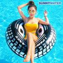 써니워터 레이서 튜브 110cm 물놀이 원형튜브 수영