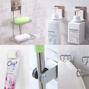 치약걸이 샴푸걸이 비누받침대 샤워기걸이 욕실