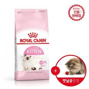 로얄캐닌 고양이사료 키튼 4kg+캣볼증정