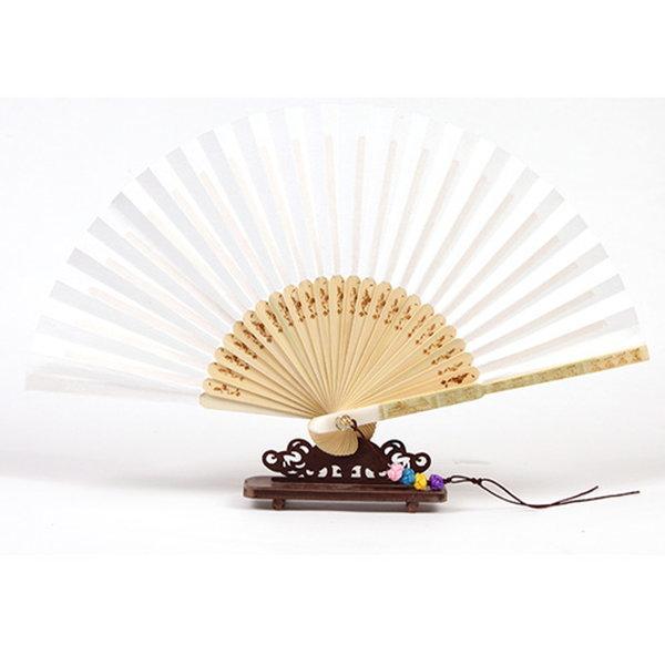 전통합죽선 대(대길이:30cm) /한지접선/서예용품