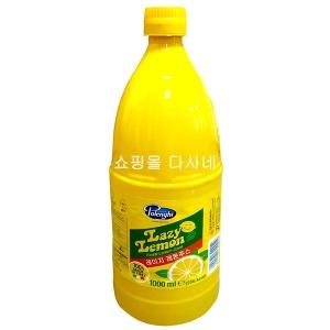 레이지 레몬주스 1000ml 1개. 레몬즙