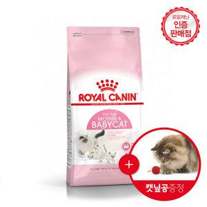 로얄캐닌 고양이사료 베이비캣 4kg+캣볼증정