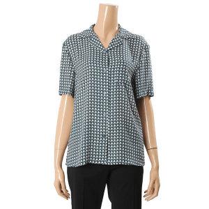 쉬즈미스  패턴 카라넥 셔츠(SWWSTK21110)