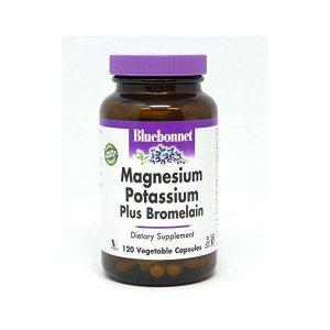 블루보닛 칼륨 마그네슘 브로멜린 120정