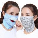심플 자외선차단 마스크/자전거/얼굴/안면/여름