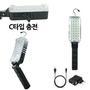 LED 랜턴 손전등 후레쉬 손전등 34구각도조절 ZJ107아0