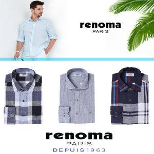레노마_셔츠(남성)  여름을 시원하게해줄 린넨or셔츠 슬림일반 긴팔셔츠30종 RKLSL