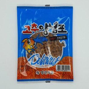 명진식품 고추양념포 5g 쥐포 1포 건어물 마른안주