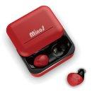 Minos 블루투스 이어폰 V10 - Wine Red