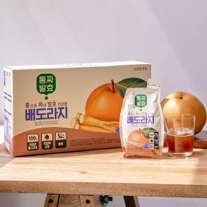 통짜발효 배도라지 30포 1BOX +쇼핑백