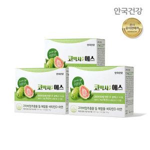 (안국건강) 코박사에스(콧물재채기코막힘) 120캡슐 3박스(3개월)