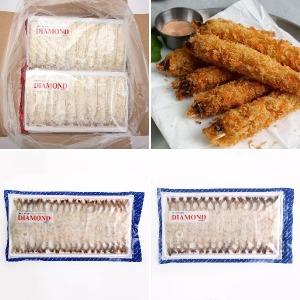 빵가루 새우튀김 냉동새우 300g 400g 30~40미 튀김새