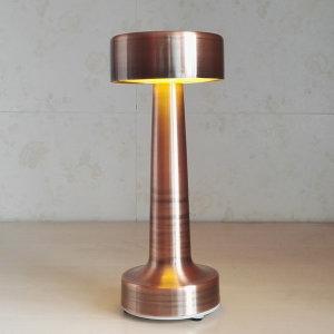 무선 레트로 LED 램프  - 터치 스위치 브론즈 3 단계