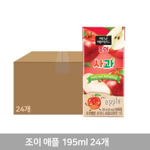 미닛메이드 조이 애플 195mlX24개 1박스