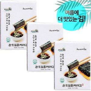 바다향기 완도 일품 재래김(구운생김/10봉) x 3박스