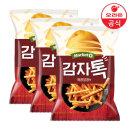 마켓오 감자톡 매콤달콤 80g X3개