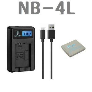 캐논 NB-4L 호환배터리+충전기SET IXUS 115HS 120IS