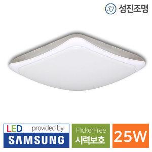 LED 현관 직부등 라운드 25W 플리커프리