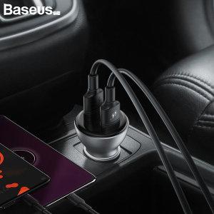 CCBX-B0S 듀얼 USB포트 45w 고속충전 시거잭 실버
