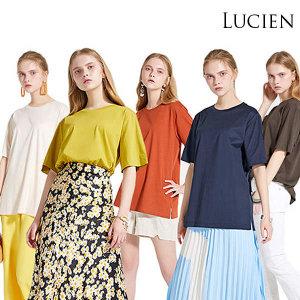 (현대Hmall)(TV홈쇼핑상품/무료배송) 루시앙 여성 코튼 실켓 티셔츠 (SD13414)