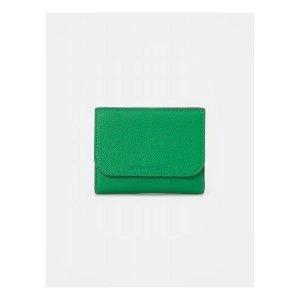 빈폴ACC  라이트 빈 미니지갑 - Green (BE02A4M83M)
