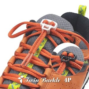 트윈버클 4P 운동화끈 신발끈 결속기 / 끈 풀림방지