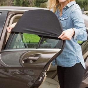 차량용 햇빛가리개 차박 모기장 커튼 뒷유리 중형