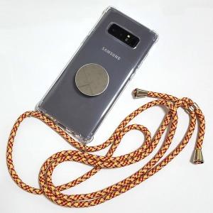 핸드폰 미러 스마트톡 + 스트랩 목걸이 케이스 크로스