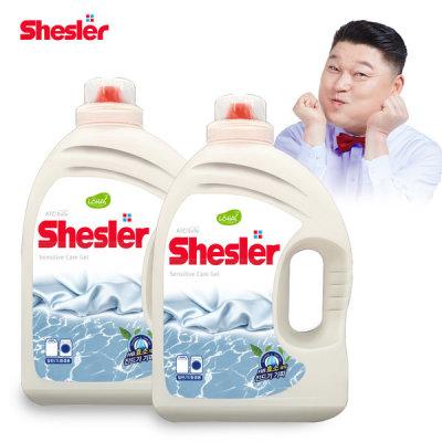 [아토세이프] 3배 고농축 액체 세탁세제 센스티브 3.05L X 2개