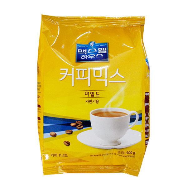 맥스웰 마일드 커피믹스 900g 12개 (1박스) 자판기커피