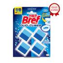 브레프 듀오큐브 블루 4P 변기세정제