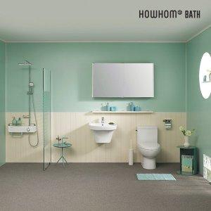 노루 하우홈바스 욕실 토탈리모델링 투톤 유럽형 소형부부