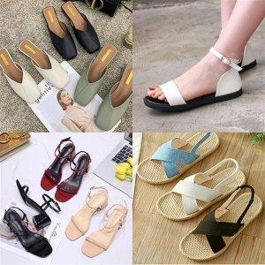 여성 신발 구두 플랫 샌들 스트랩 로퍼 하이힐 펌프스