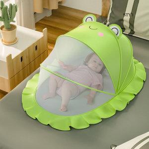 유아아기모기장 텐트 원터치 침대 유아용 캐노피0-3세