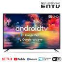 138cm(55) 구글AI 스마트 UHDTV 안드로이드/ EN-SM550U